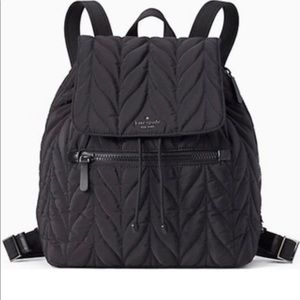 Kate Spade ♠️ Ellie Quilted Nylon Backpack